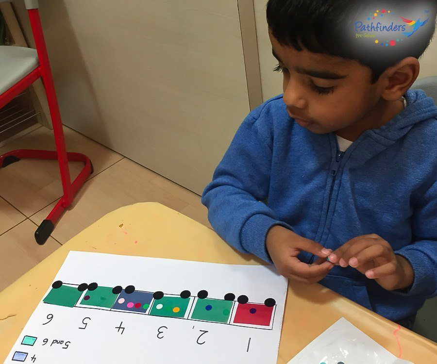 A child understanding a Numbers